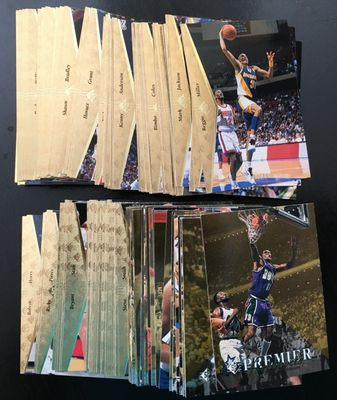 1994-95 SP NBA Basketball near complete card set (Grant Hill Jason Kidd Rookie Cards)