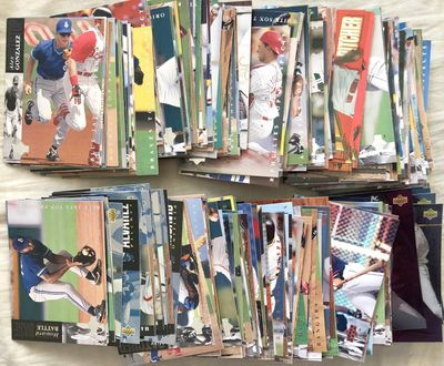 1994 Upper Deck Minors near complete baseball card set (Derek Jeter)