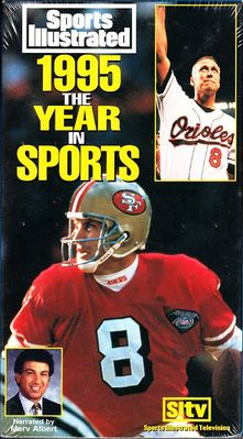 1995 The Year in Sports VHS video from Sports Illustrated NEW & SEALED