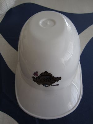 1995 World Series mini ice cream batting helmet