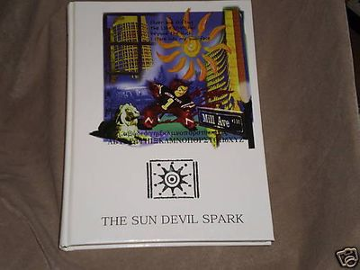 1997 Arizona State Sun Devils Spark Yearbook (Jake Plummer and Pat Tillman photos)