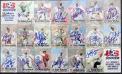 1999 US Women's World Cup Soccer Team autographed Roox card set (Mia Hamm Brandi Chastain Julie Foudy Kristine Lilly Briana Scurry)