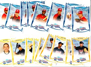 2008 AFLAC Bowman Rookie Card partial set (Ian Krol)