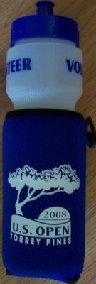 2008 U.S. Open volunteer water bottle NEW