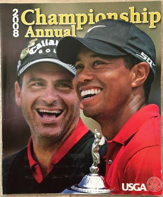 2008 USGA Championship Annual golf magazine (Tiger Woods wins U.S. Open)