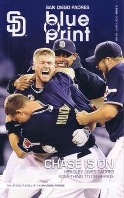 2010 San Diego Padres program (Chase Headley cover)