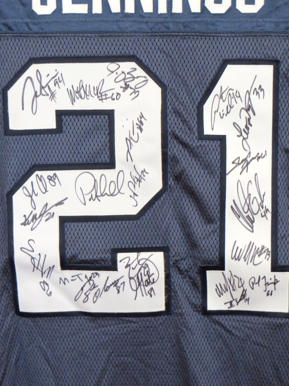 new products 7d3f0 5492b 2010 Seattle Seahawks team autographed authentic Reebok ...