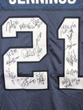 2010 Seattle Seahawks team autographed authentic Reebok jersey (Pete Carroll Marshawn Lynch Golden Tate Earl Thomas)