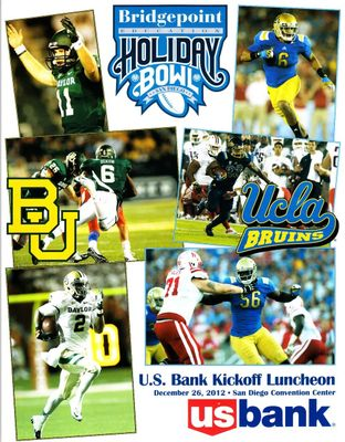2012 Holiday Bowl lunch program (Baylor 49 UCLA 26) Terrance Williams MT