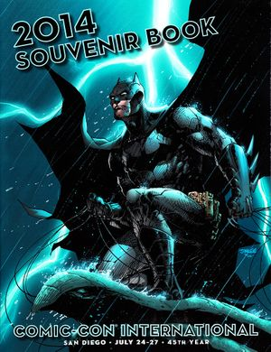 2014 San Diego Comic-Con Souvenir Book Program (Batman cover by Jim Lee)