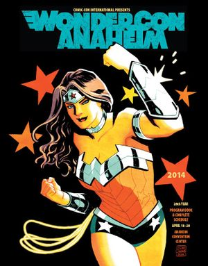 2014 Wondercon program magazine (Wonder Woman cover)