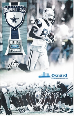 2015 Dallas Cowboys training camp program (Dez Bryant cover)