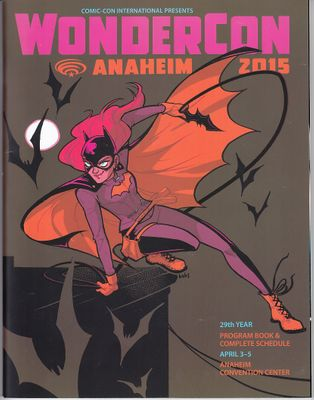 2015 Wondercon program magazine (Batgirl cover)