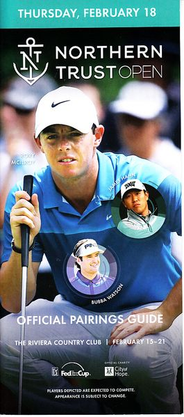 Rory McIlroy 2016 Northern Trust Open Thursday pairing guide