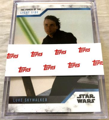 Star Wars The Power of the Light Side 2019 Topps complete set of 25 base cards MINT