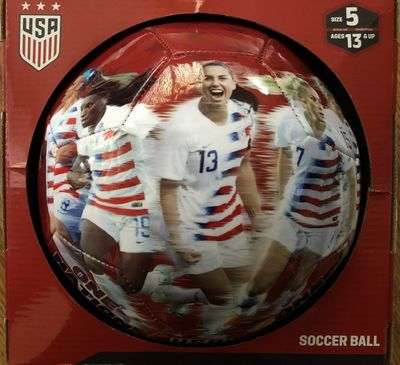 2019 U.S. Women's World Cup Team souvenir size 5 photo soccer ball Alex Morgan Megan Rapinoe