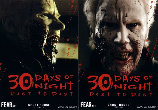 30 Days of Night Dust to Dust promo 5x7 postcard set (2)