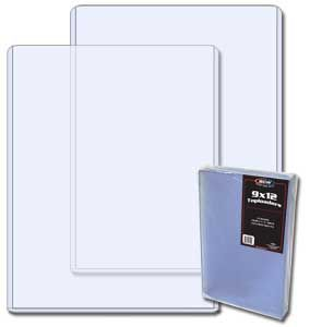 9x12 inch photo topload plastic display holder