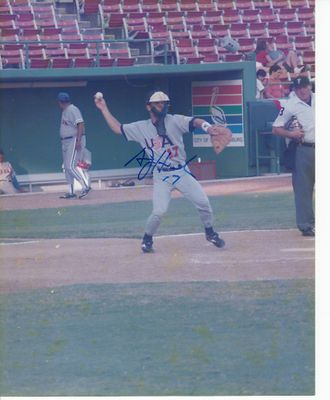 A.J. Hinch autographed 1996 USA Olympic Baseball Team 8x10 photo