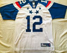 Aaron Rodgers authentic Reebok NFL Equipment 2012 NFC Pro Bowl stitched white jersey NEW