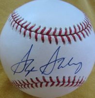 Active Baseball Player Autographs