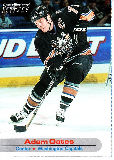 Adam Oates Washington Capitals 2001 Sports Illustrated for Kids card