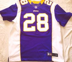 Adrian Peterson Minnesota Vikings 2012 MVP season authentic Nike purple game model jersey