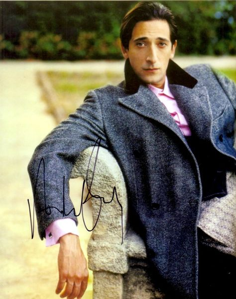 Adrien Brody autographed 8x10 photo