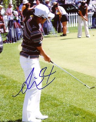 Ai Miyazato autographed 2005 LPGA Kraft Nabisco Championship 8x10 photo (old signature)
