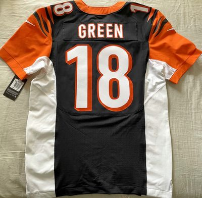 A.J. Green 2012 to 2016 Cincinnati Bengals authentic Nike Elite game model jersey NEW WITH TAGS