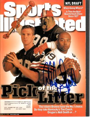 Akili Smith autographed 1999 NFL Draft Sports Illustrated