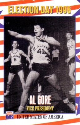 Al Gore 1996 Sports Illustrated for Kids card