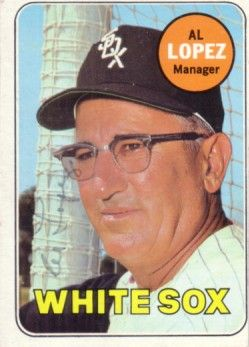 Al Lopez autographed Chicago White Sox 1969 Topps card