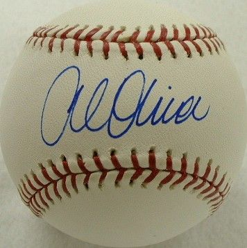 Al Oliver autographed National League baseball