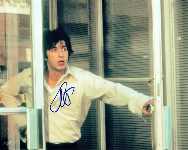 Al Pacino autographed Dog Day Afternoon 8x10 photo