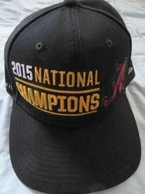 Alabama Crimson Tide 2015 National Champions Nike locker room cap or hat
