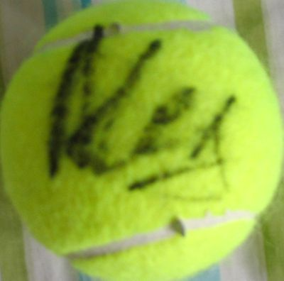 Alex Corretja autographed tennis ball