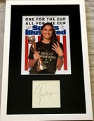 Alex Morgan autograph matted and framed with 2019 Women's World Cup Sports Illustrated cover