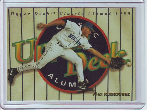 Alex Rodriguez 1994 Upper Deck Classic Alumni card #298 MINT