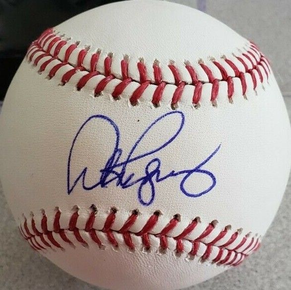 Alex Rodriguez autographed 3000th Hit Rawlings commemorative baseball