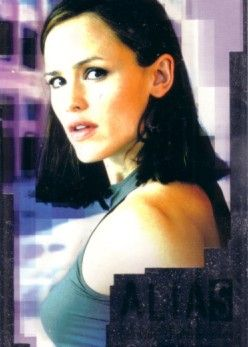 Alias Season 3 2004 Comic-Con promo card SD1