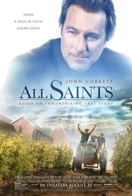 All Saints mini 11x17 heavy paper 2017 movie poster (John Corbett)