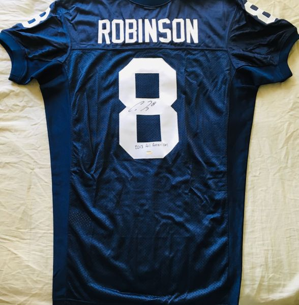 Allen Robinson autographed Penn State authentic Nike stitched jersey inscribed 2013 All American (Schwartz)
