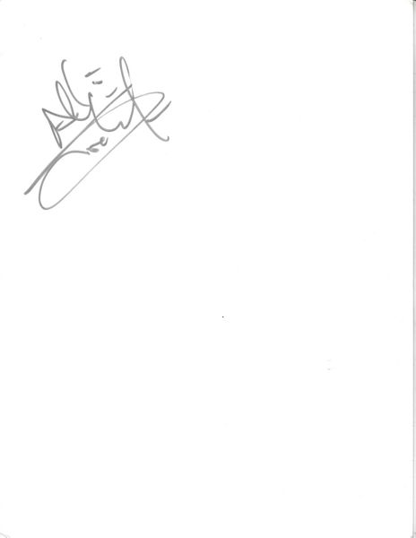 Allison Iraheta autograph or cut signature