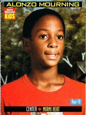 Alonzo Mourning 2000 Sports Illustrated for Kids card #876