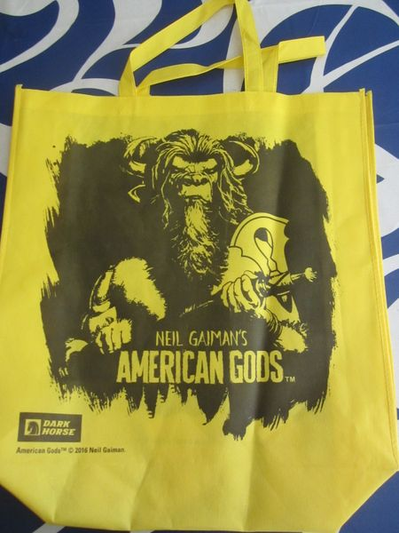 American Gods 2017 Comic-Con exclusive Dark Horse promo tote bag