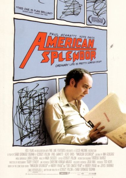 American Splendor movie 5x7 promo card (Paul Giamatti)