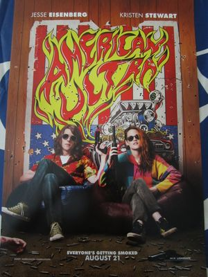 American Ultra mini movie poster (Jesse Eisenberg Kristen Stewart)