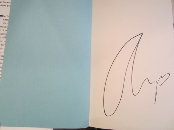 Amy Schumer autographed The Girl with the Lower Back Tattoo hardcover book