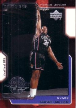 Andre Miller 1999-00 Upper Deck Rookie Card #323 MINT